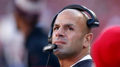 49ers defensive coordinator Robert Saleh interviewed with the