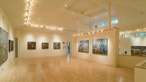 This is the art gallery on a 4.88-acre