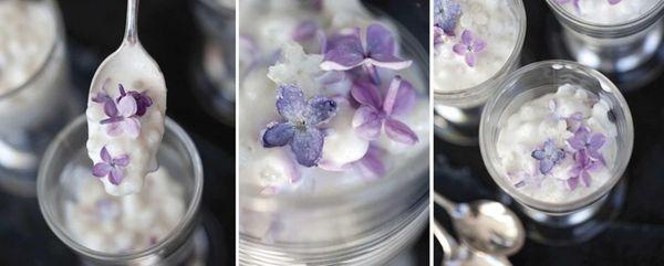 Coconut lilac tapioca.