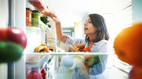 Take stock of your refrigerator.