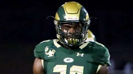 Victoine Brown is a 6-3, 220-pound defensive end