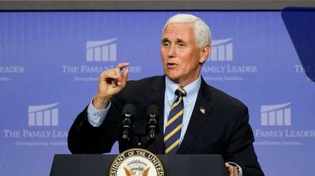 Vice President Mike Pence is expected to hit