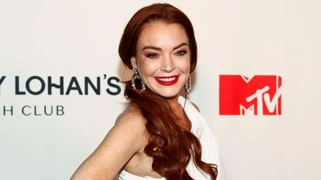 "Lindsay Lohan at MTV's ""Lindsay Lohan's Beach Club"""