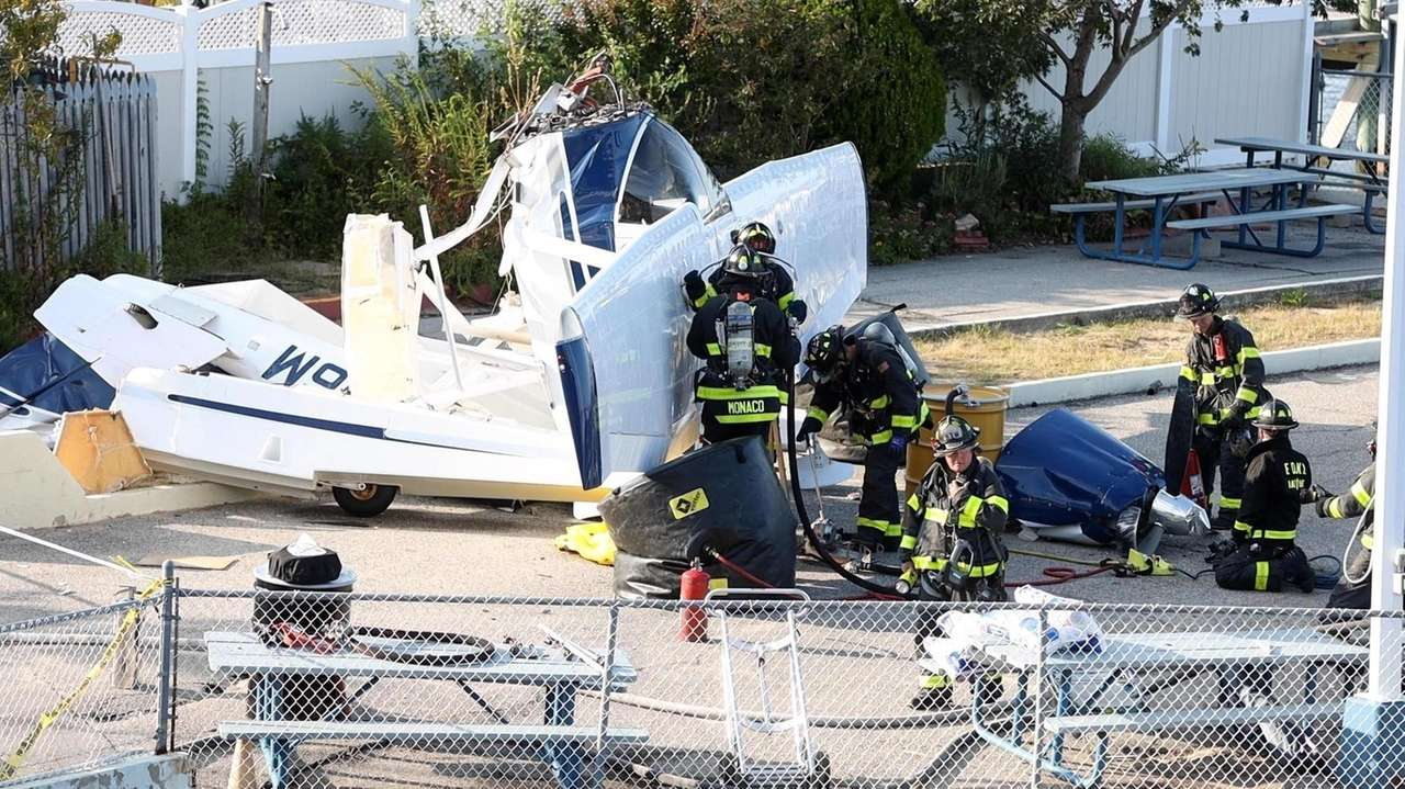 One person has died and firefighters extricated at