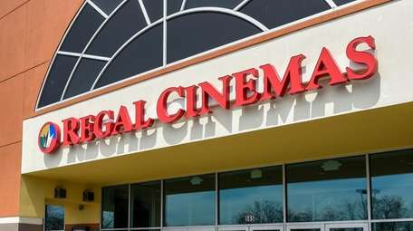 The Regal Cinemas theater in Ronkonkoma is among