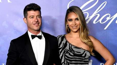 Robin Thicke and April Love Geary are parents