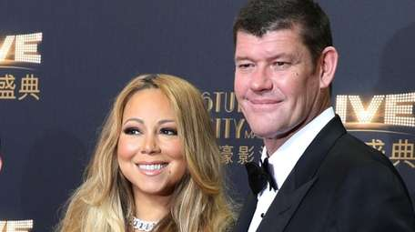 Mariah Carey did not mention her former fiance,