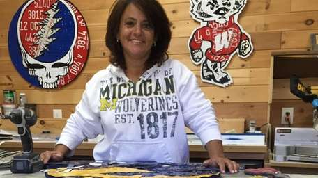 Bonnie Schwartz of Woodbury was a Michigan Wolverines