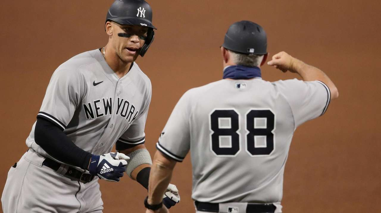 The New York Yankees brought their bats to
