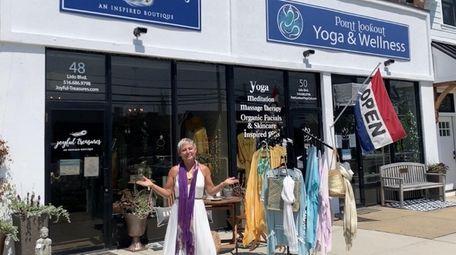 Laura Shockley, 45, owns Joyful Treasures in Point