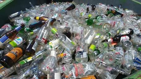 Recycled glass is a product that has a