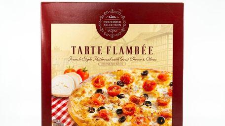 Tarte flambée at Lidl.
