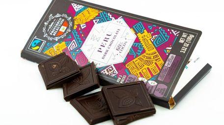 Single origin chocolate bars, a product of Germany,