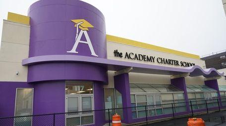 The Academy Charter School in Hempstead, seen here