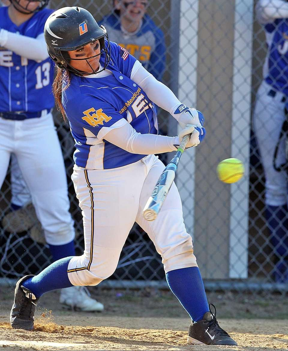 East Meadow's Madison West gets a single and