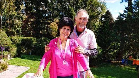 Breast cancer survivor Joani Madarash, 71, and her