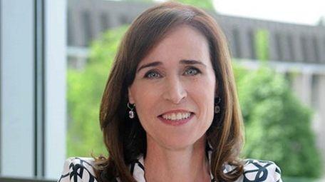 Adelphi University President Christine Riordan.