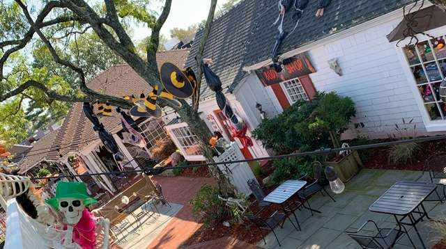 The annual Halloween Village at the Milleridge Inn