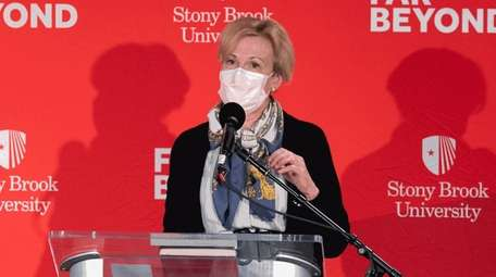 Dr. Deborah Birx said she urged Stony Brook