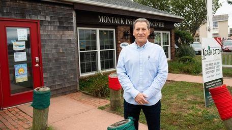 Paul Monte, president of the Montauk Chamber of