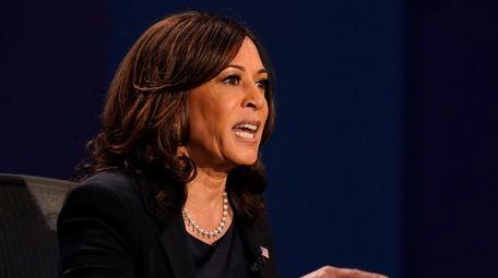 Democratic vice presidential candidate Sen. Kamala Harris, D-Calif.