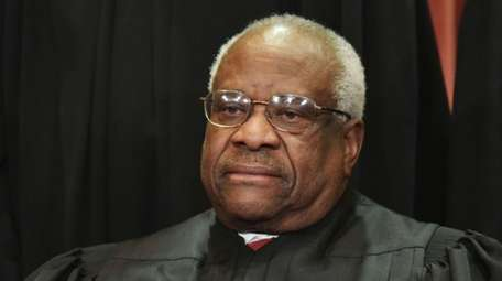 Associate Justice Clarence Thomas at the US Supreme