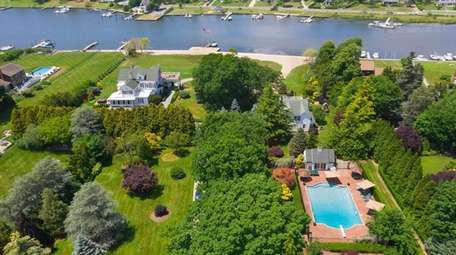 The property is set on 6.3 acres with