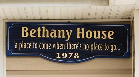 The sign outside Bethany House in Roosevelt, shown