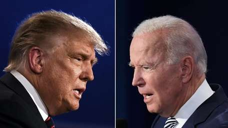 President Donald Trump and Democratic Presidential candidate former