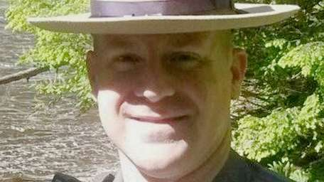 Trooper Joseph Gallagher is shown in a photo