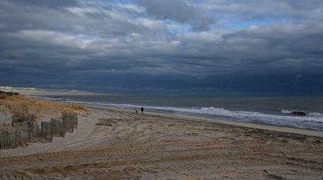 The town beach at Beach Lane in Wainscott