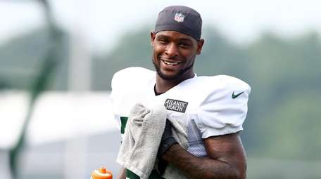 Le'Veon Bell of the Jets on Aug. 23,
