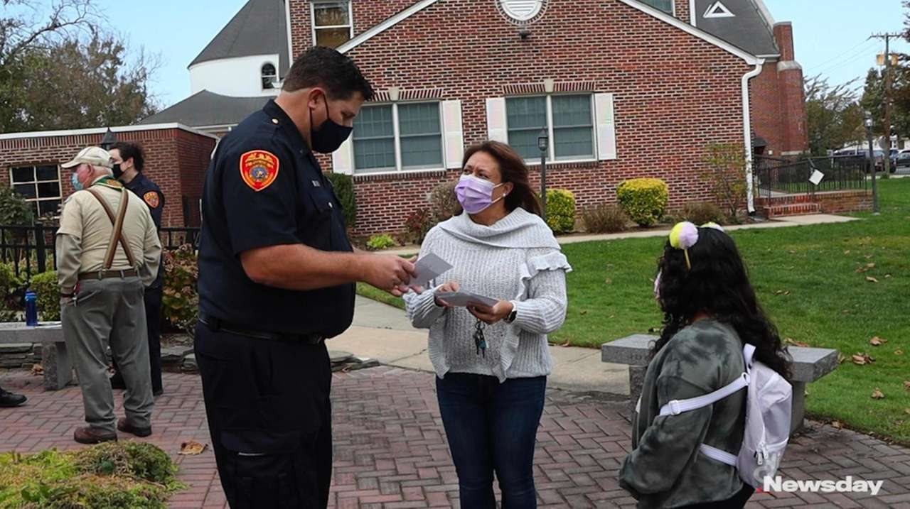 Police and faith-based organizations joined forces in Westbury