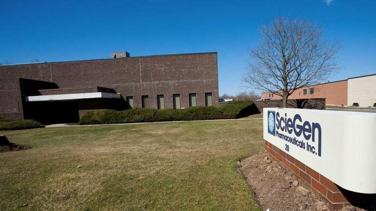 ScieGen Pharmaceuticals, currently at 20 Davids Dr. in