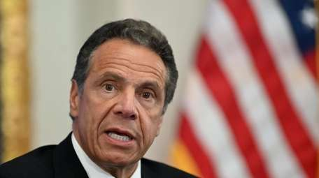 Gov. Andrew M. Cuomo on Sunday said communities