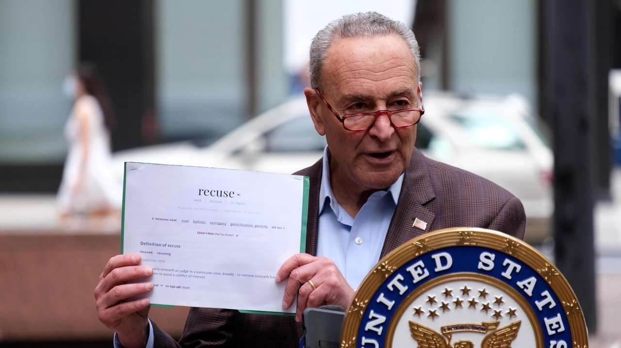 Sen. Chuck Schumer (D-N.Y.) called for Supreme Court