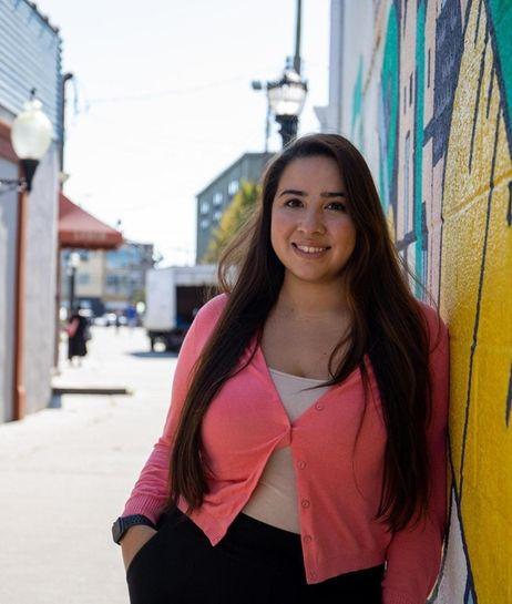Ludmila Molina, a paralegal and community organizer at