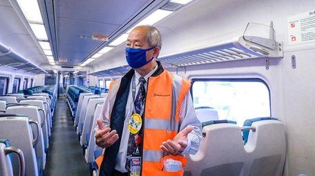 LIRR president Phillip Eng talks about the ventilation
