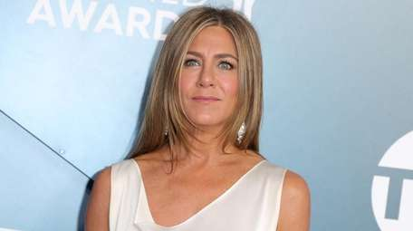 Jennifer Aniston took to Instagram to show off