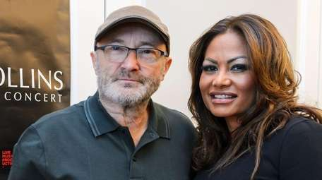 Report Phil Collins Boots Ex Wife From Their Home Newsday In 1999, orianne cevey married husband phil collins as his third wife. report phil collins boots ex wife from