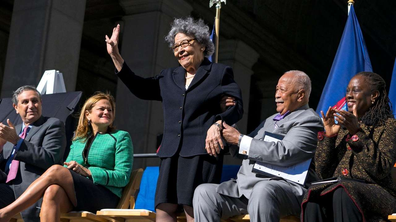 joyce dinkins wife of former nyc mayor david dinkins dies at 89 newsday joyce dinkins wife of former nyc mayor