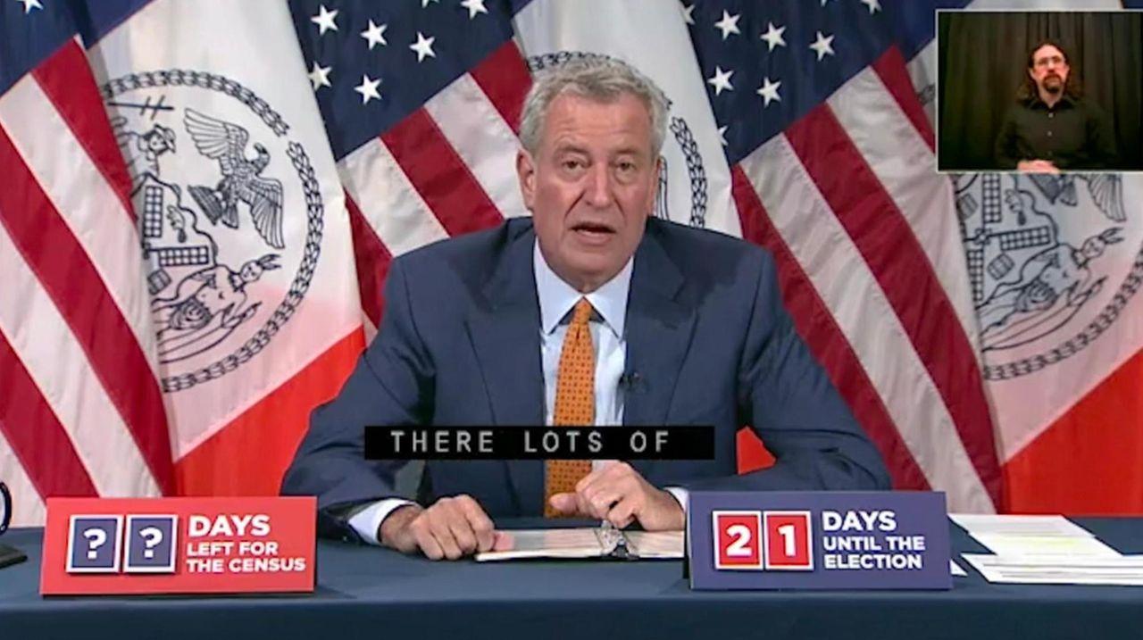 On Tuesday, Mayor Bill de Blasio announced New