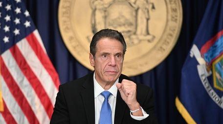 Gov. Andrew M. Cuomo said New York is