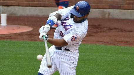 Dominic Smith hit .316 with 10 homers and