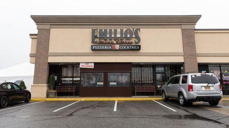 The alleged incident took place at Emilio's Pizzeria