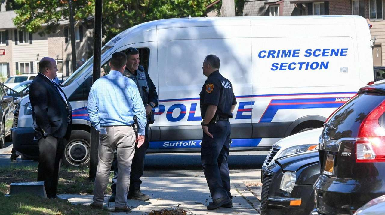 Suffolk County Police Homicide Squad detectives are investigating