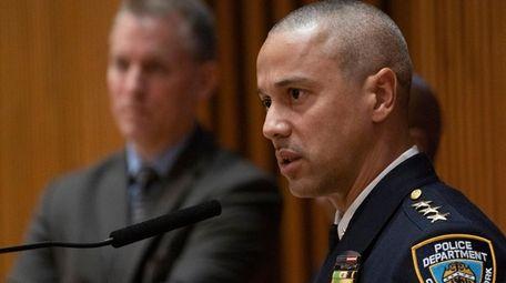 NYPD Chief of Patrol Fausto B. Pichardo speaks
