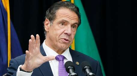 Gov. Andrew M. Cuomo said people will need