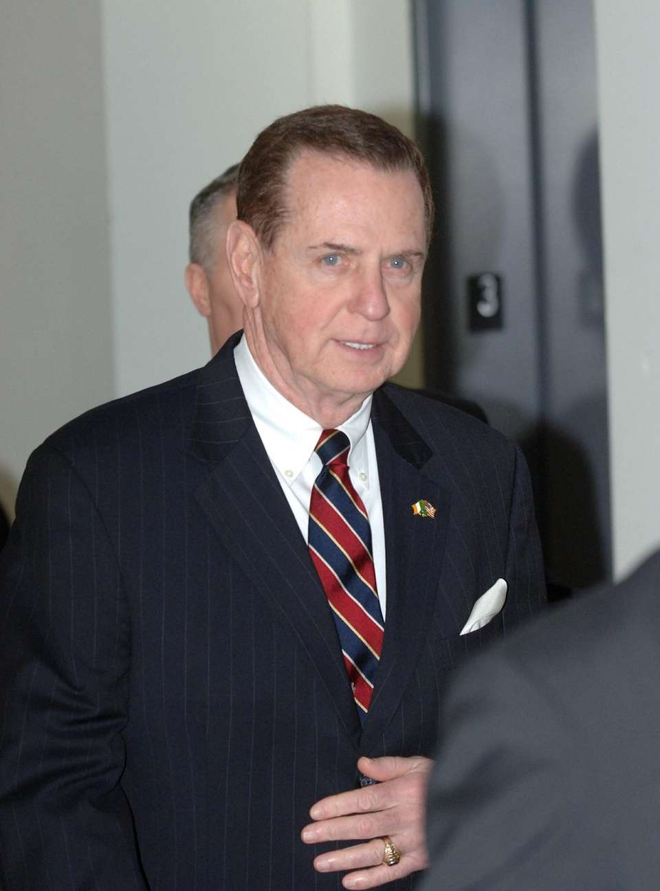 Former Town Supervisor Peter McGowan, shown in 2006,