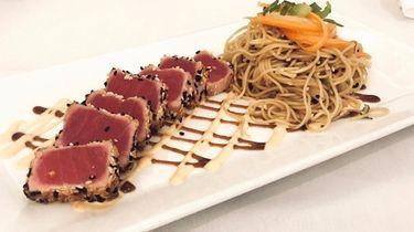 Sesame seared tuna at 46 Locust, a new